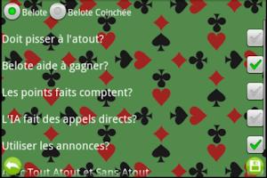 Screenshot of Belote  Online