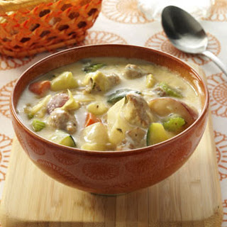 Anything Goes Sausage Soup.