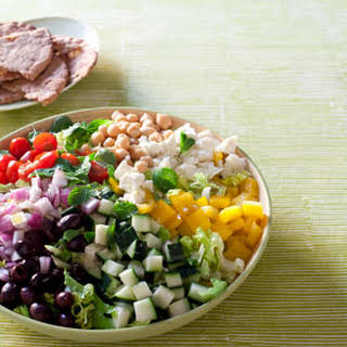 Chopped Greek Salad.
