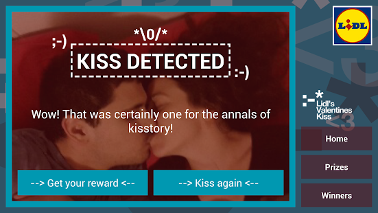 Lidl's Valentine Kiss - screenshot thumbnail