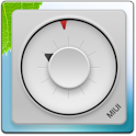 MIUI Square Analog Clock icon