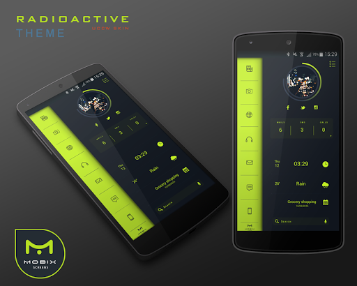 玩免費個人化APP|下載Radioactive Theme UCCW Skin app不用錢|硬是要APP