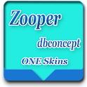 Zooper widget clock one