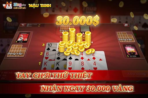 Poker VN - Mu1eadu Binh u2013 Binh Xu1eadp Xu00e1m - ZingPlay 3.9 screenshots 5