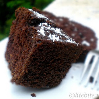 Quick Chocolate Syrup Cake