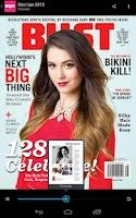 Screenshot of BUST Magazine