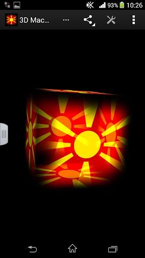 3D Macedonia Live Wallpaper