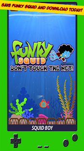 Funky Squid Dont Touch The Net- screenshot thumbnail