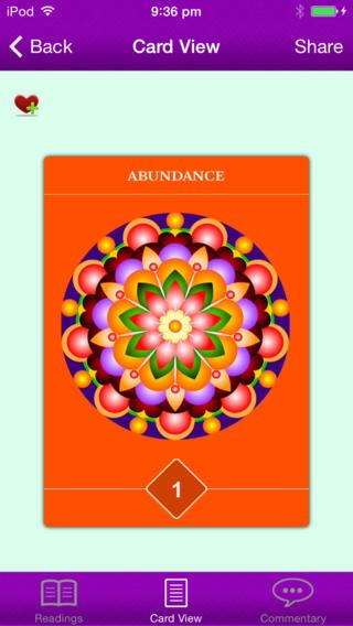 Maitreya Wisdom Cards- screenshot