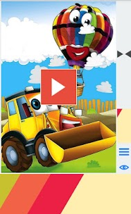 Cartoon Vehicles For Kids - screenshot thumbnail