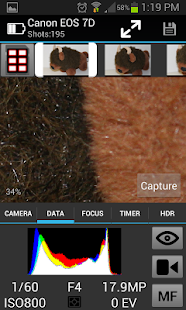 CamRanger Wireless DSLR Remote - screenshot thumbnail