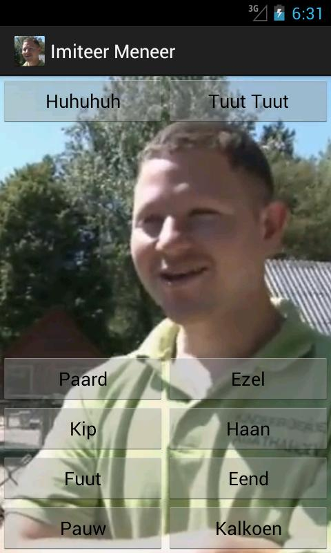 Imiteer Meneer - screenshot