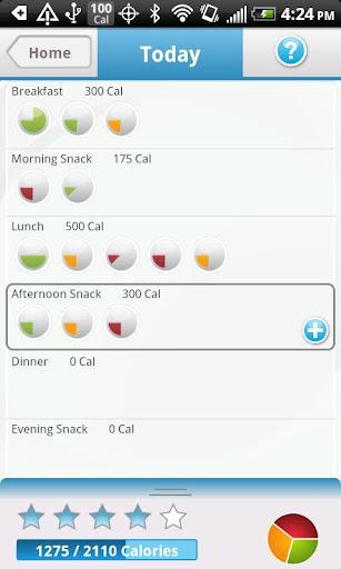 Calorific Diet Tracker