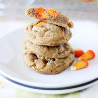 Pumpkin Spice Candy Corn Cookies