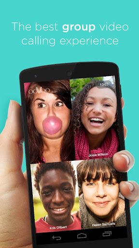 ooVoo 視訊通話 簡訊與語音