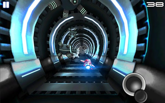 Tunnel Trouble-Space Jet Games