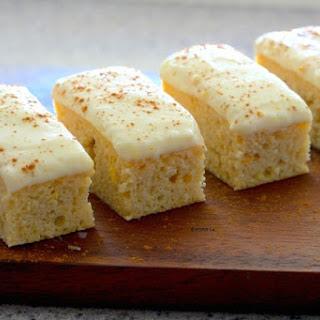 Orange Cake With Zesty Cream Cheese Frosting.