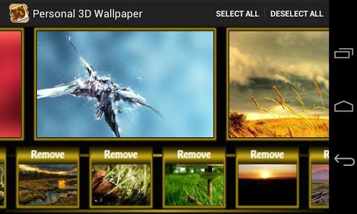 【免費個人化App】Personal 3D Wallpaper-APP點子