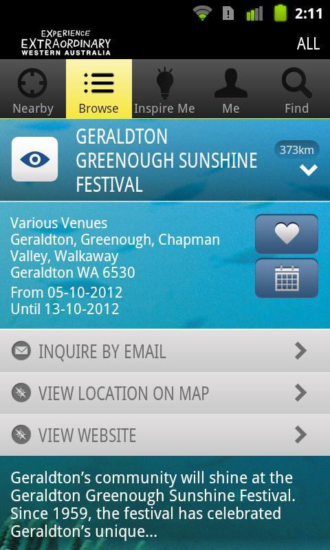 Experience Western Australia - screenshot