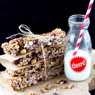 No Bake Trail Mix Granola Bars