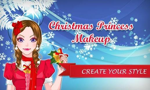 Christmas Princess Girl Makeup