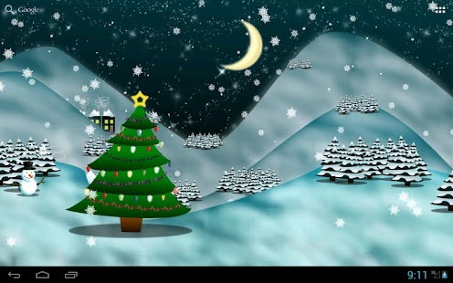 Christmas Tree Live Wallpaper★- screenshot thumbnail