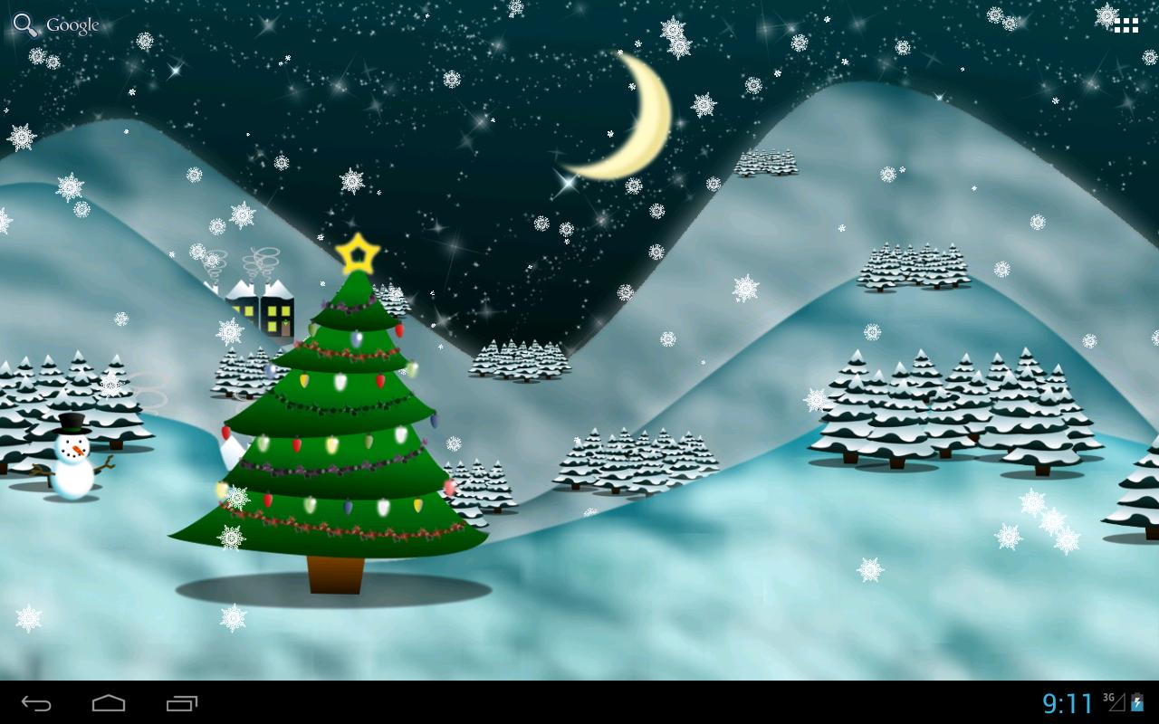 Christmas Tree Live Wallpaper★- screenshot