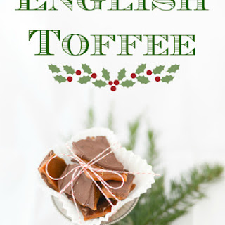 English Toffee Recipe and Tutorial