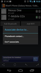 BlueFi Phone - screenshot thumbnail