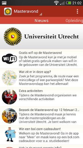 Universiteit Utrecht Master