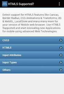 HTML5 Supported?- screenshot thumbnail