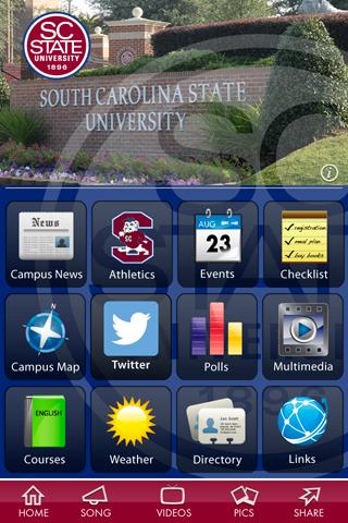 SC State University- screenshot
