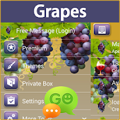 GO SMS Pro Grapes