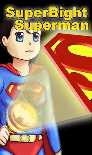 Superman FlashLight Live Wallpaper