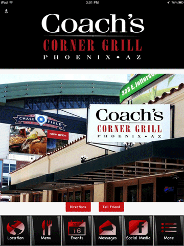 Coachs Corner Grill