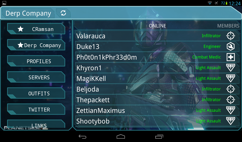 Auraxis Control Center - screenshot