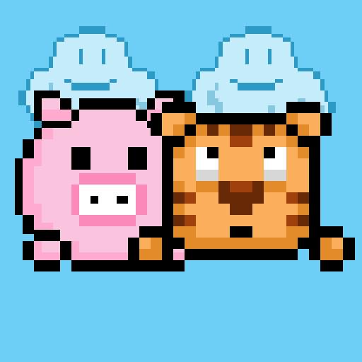 Piggy Jumpy 街機 LOGO-阿達玩APP
