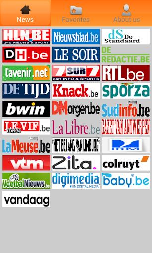 België Kranten: newspapers be