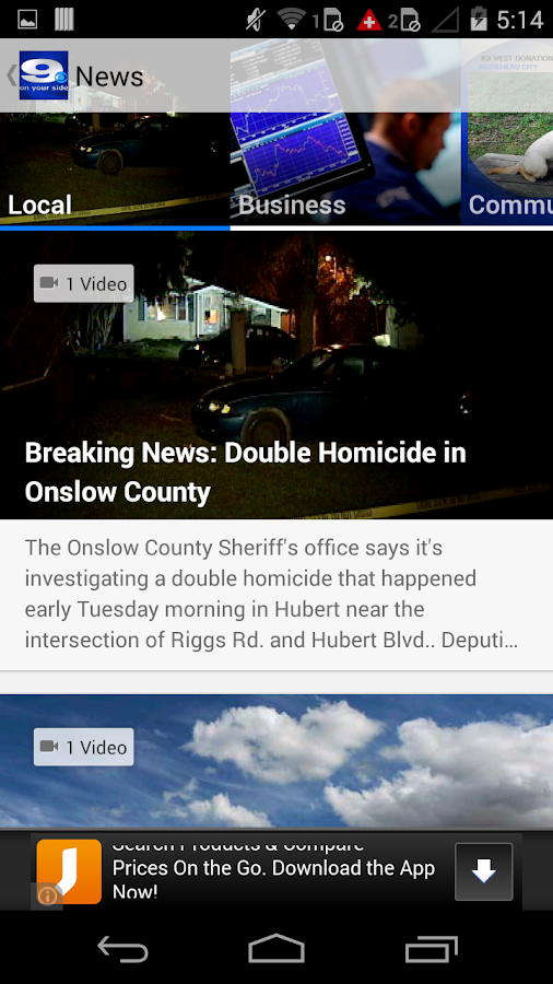 WNCT - screenshot