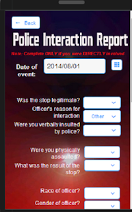 Five-O Police Rating App 1.2 - screenshot thumbnail