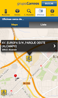 Screenshot of Correos Info