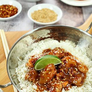 Honey Sriracha Chicken with Lime Recipe