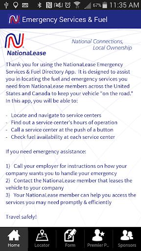 NationaLease Emergency Service