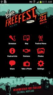 Virgin Mobile FreeFest - screenshot thumbnail