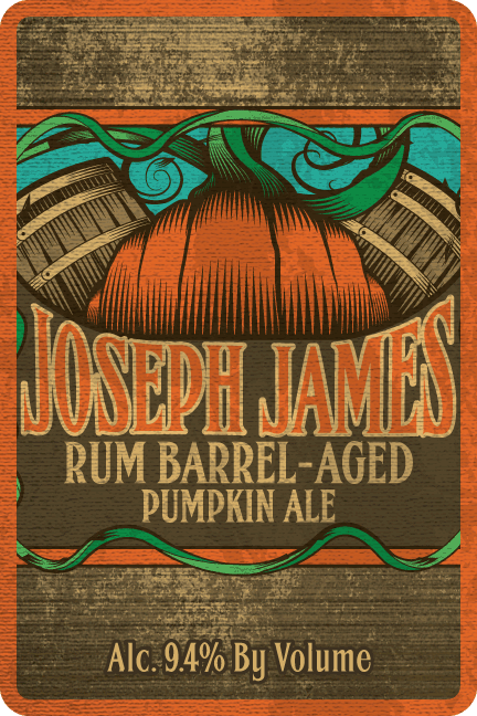 Logo of Joseph James Rum Barrel-Aged Pumpkin Ale