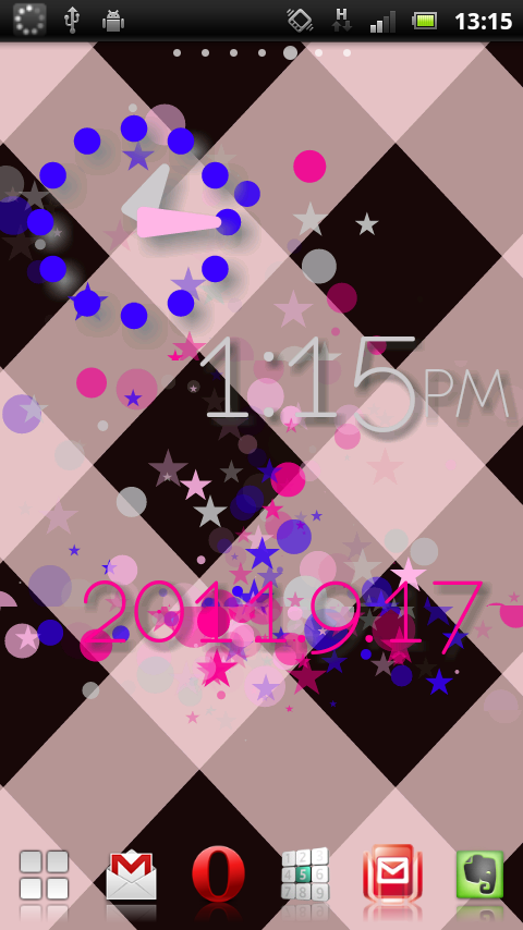 PolkaDotsFlow! Live Wallpaper - screenshot