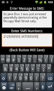 I'm Getting Arrested - OWS- screenshot thumbnail