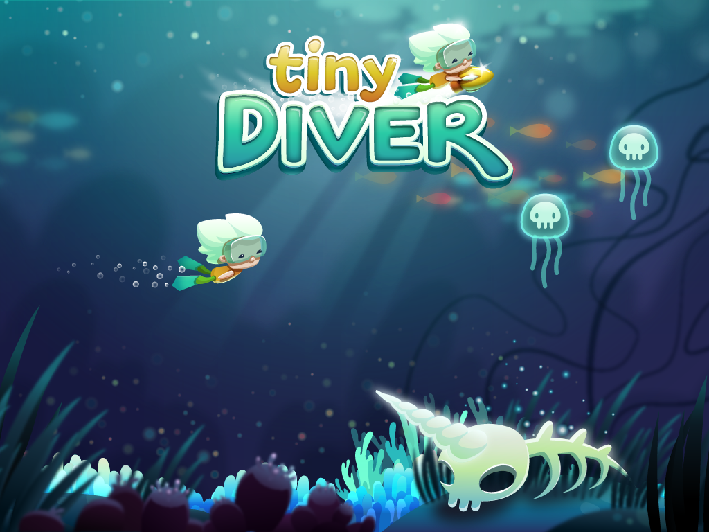 Tiny Diver - screenshot