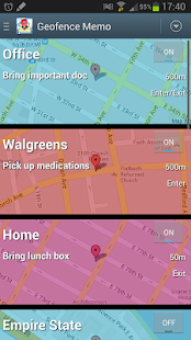 how to make a geofence app