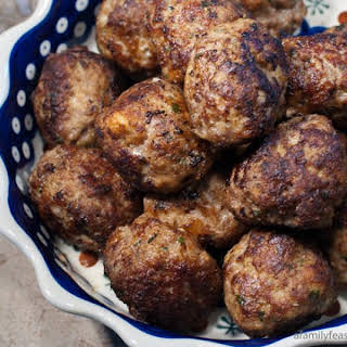 Italian-Style Meatballs.